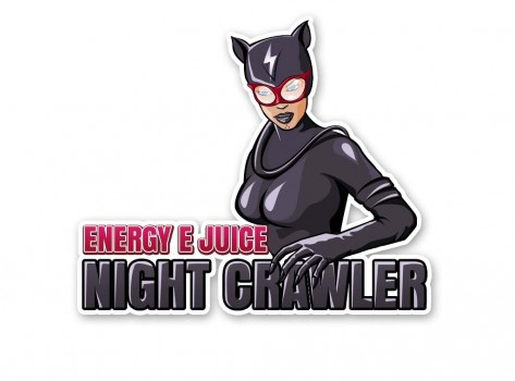 graphic design night crawler