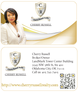 Cherry Russell Business Card